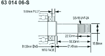 Kohler Crankshaft - Part No. 63 014 06-S