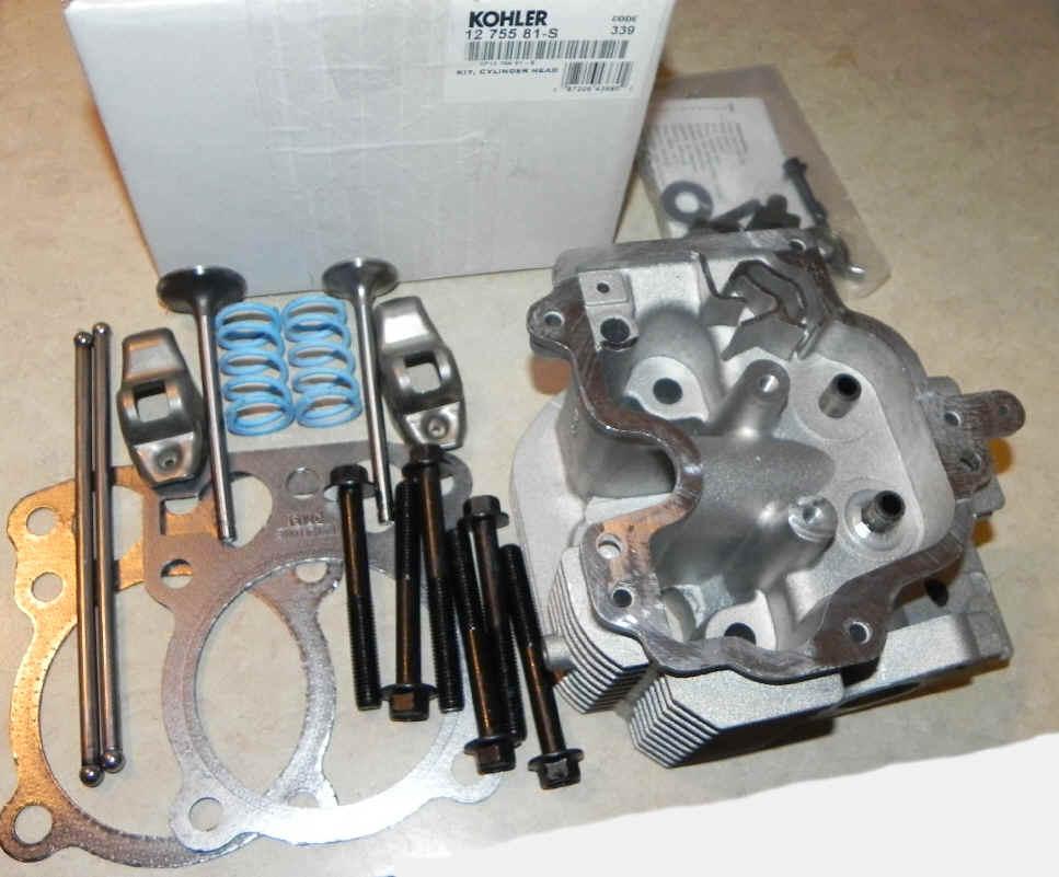 Kohler Cylinder Head Kit - Part No. 12 755 81-S