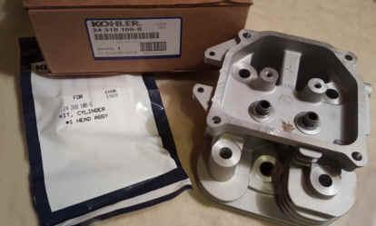 Kohler Cylinder Head - Part No. 24 318 108-S