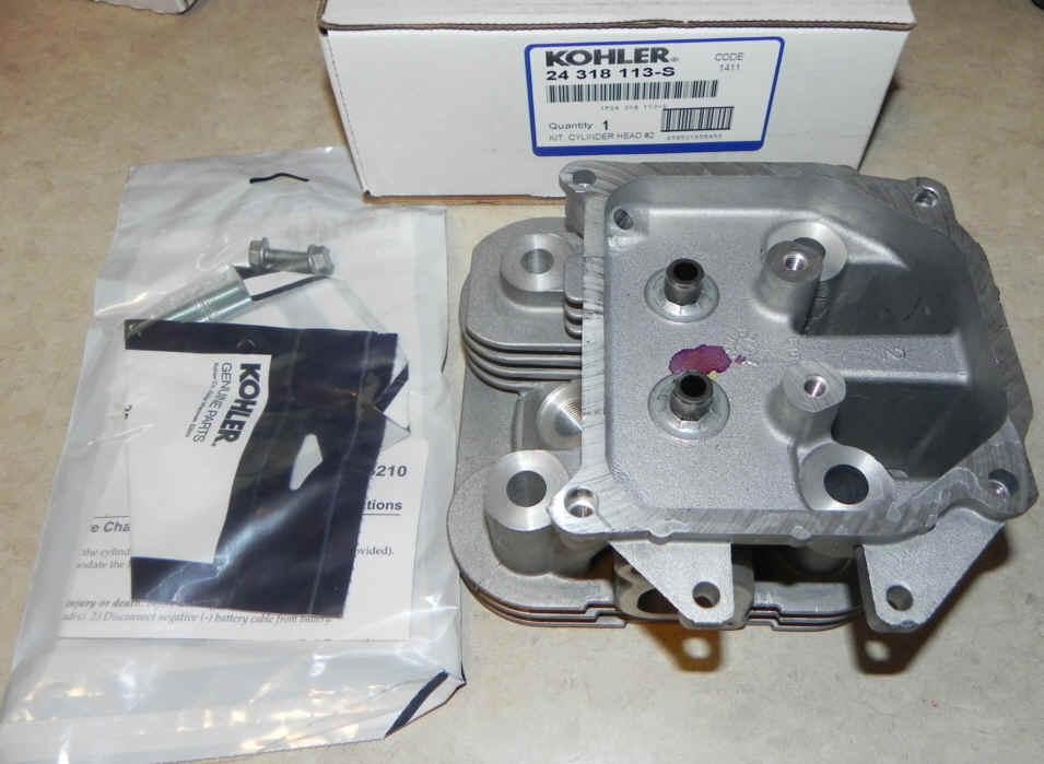 Kohler Cylinder Head - Part No. 24 318 113-S