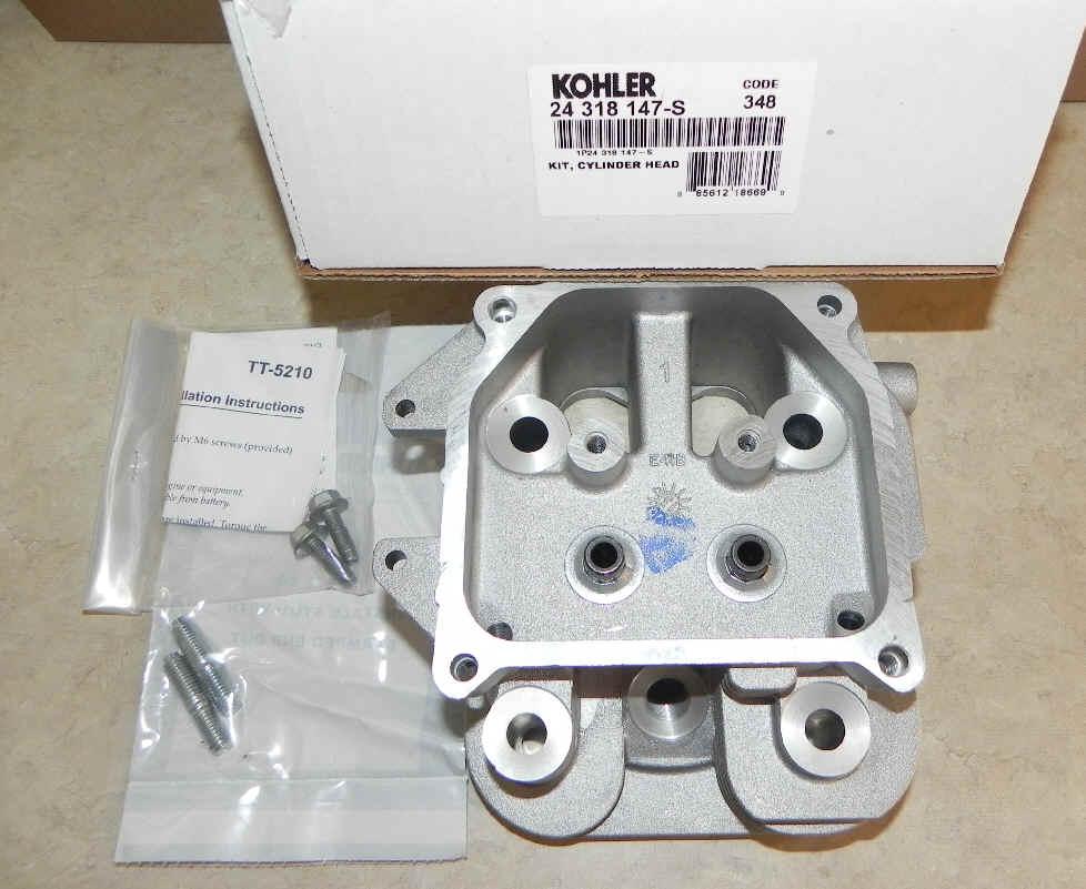 Kohler Cylinder Head - Part No. 24 318 208-S