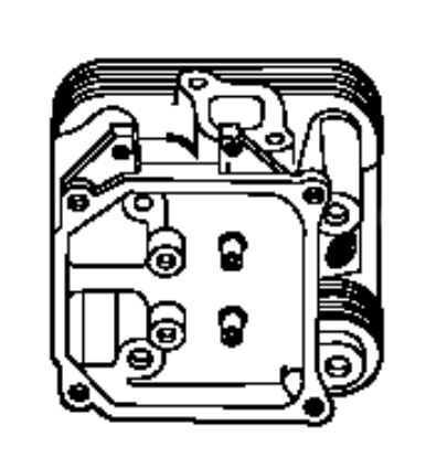 Kohler Cylinder Head - Part No. 24 318 77-S
