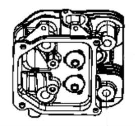 Kohler Cylinder Head - Part No. 32 318 21-S for Cylinder 1