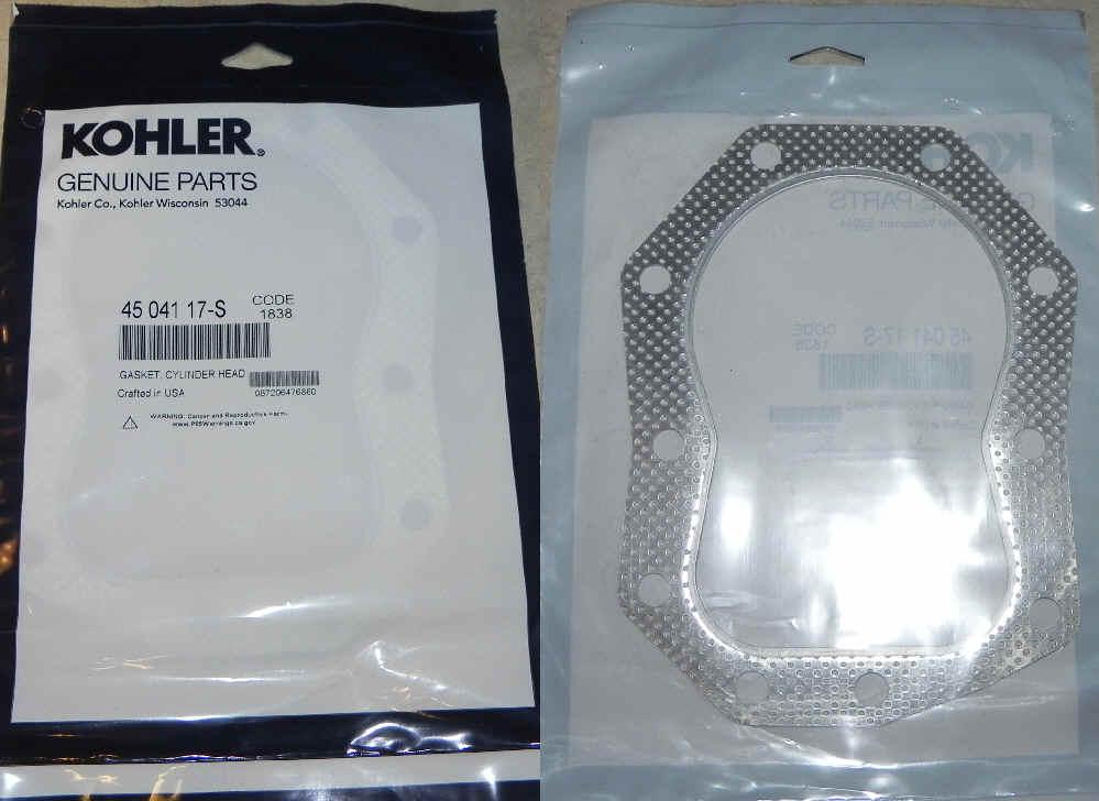 Kohler Head Gasket 45 041 17-S