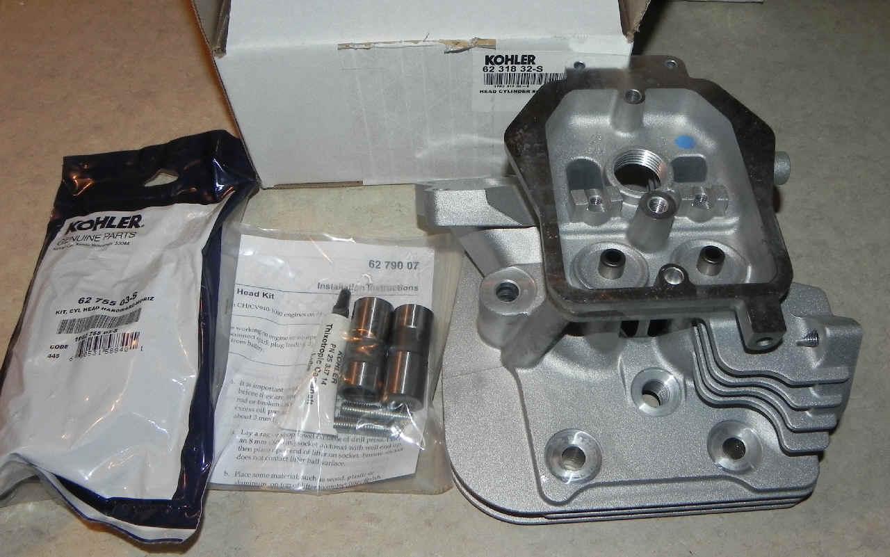 Kohler Cylinder Head - Part No. 62 318 32-S