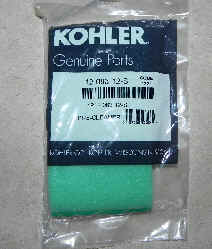 Kohler Air Filter Part No 12 083 12-S