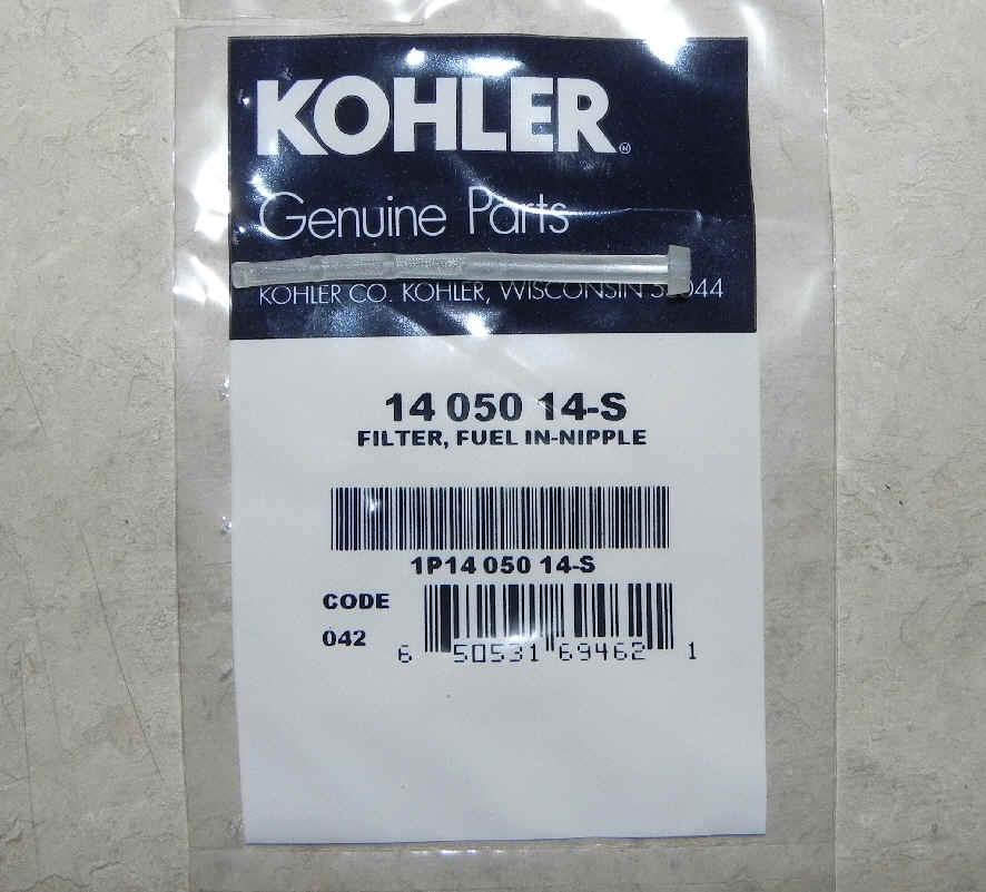 Kohler Fuel Filter Part No 14 050 14-S