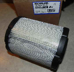 Kohler Air Filter Part No 16 083 01-S