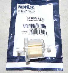 Kohler Fuel Filter Part No 24 050 12-S