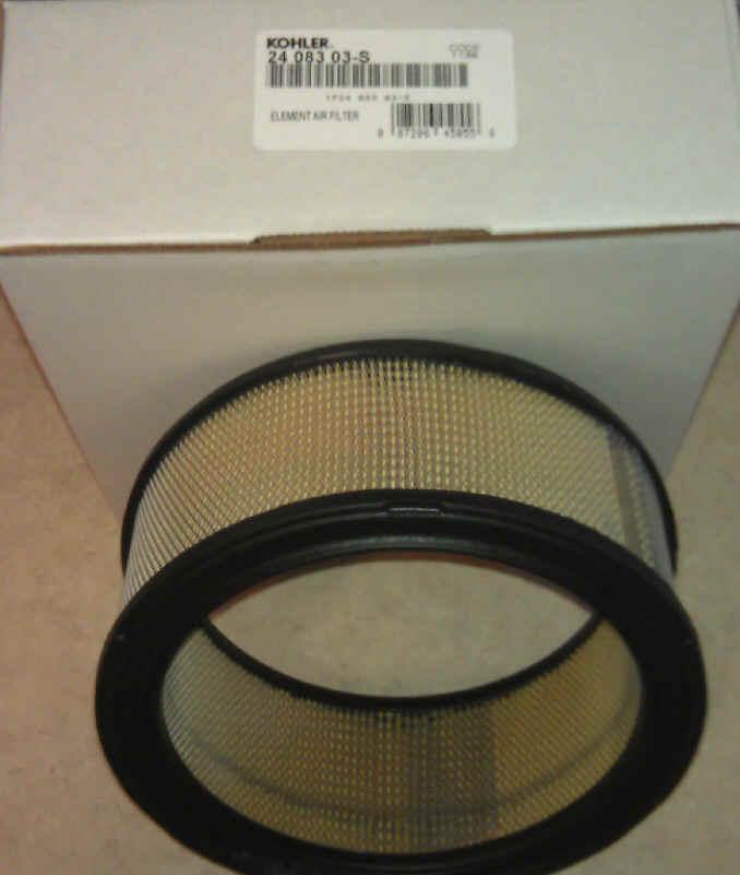 Kohler Air Filter Part No 24 083 03-S