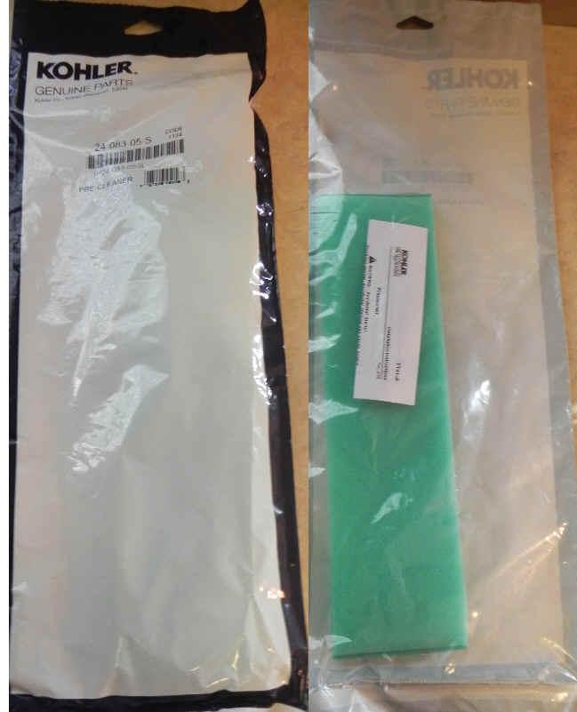 Kohler Air Filter Part No 24 083 05-S