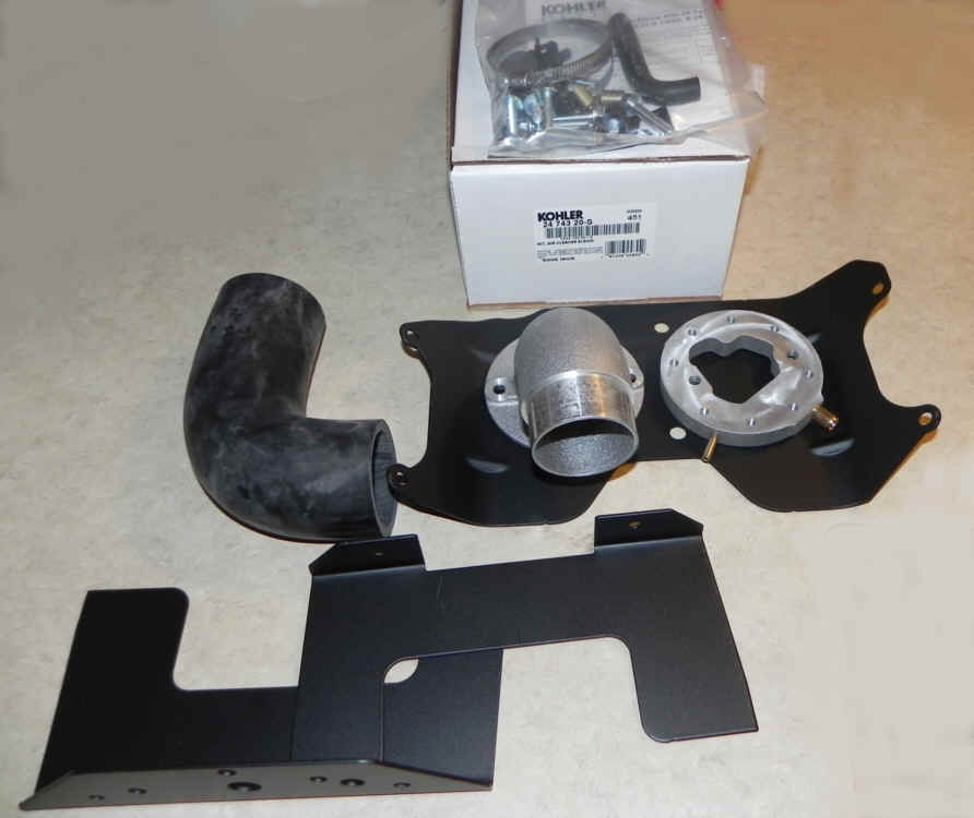 Kohler HD Elbow Kit 24 743 20-S