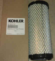 Kohler Air Filter Part No 25 083 01-S