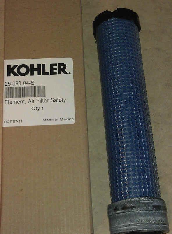 Kohler Air Filter Part No 25 083 04-S
