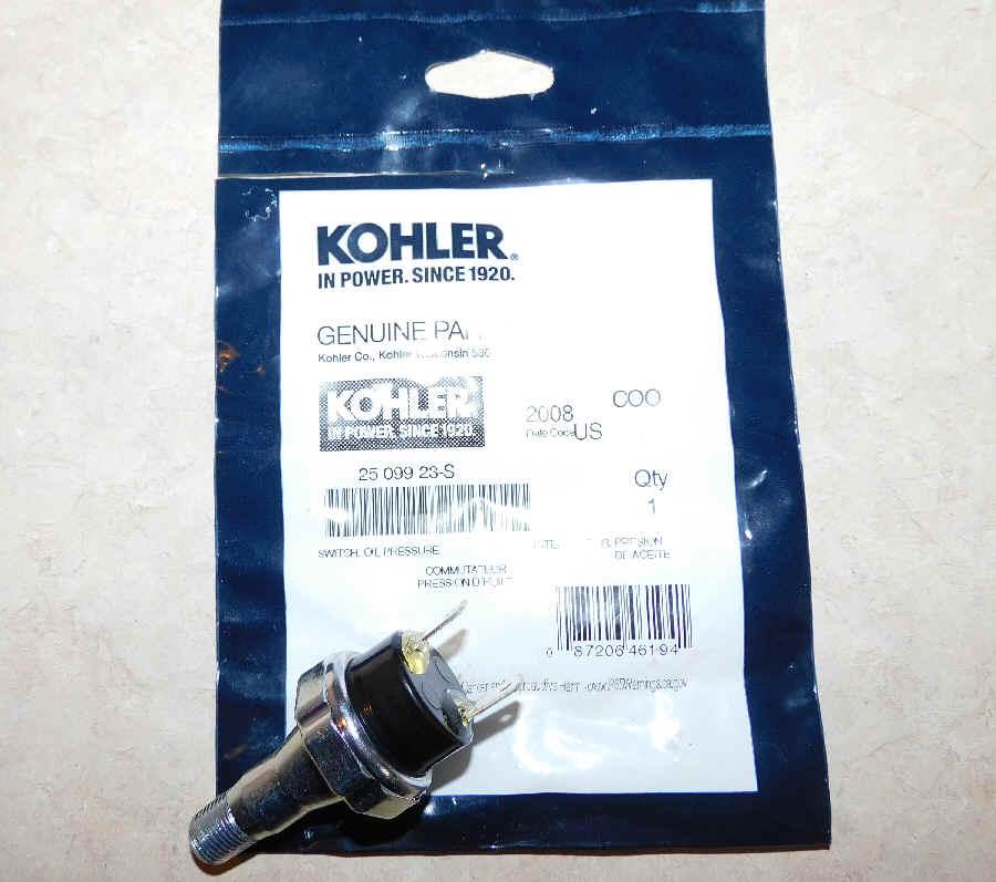 Kohler Oil Pressure Switch 25 099 23-S