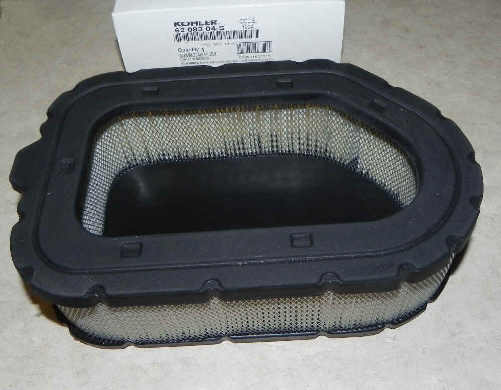 Kohler Air Filter Part No 62 083 04-S