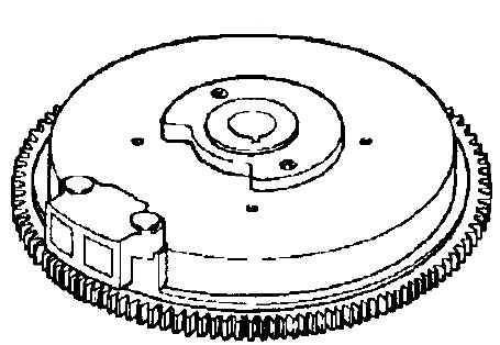 Kohler Flywheel - Part No. 12 025 16-S