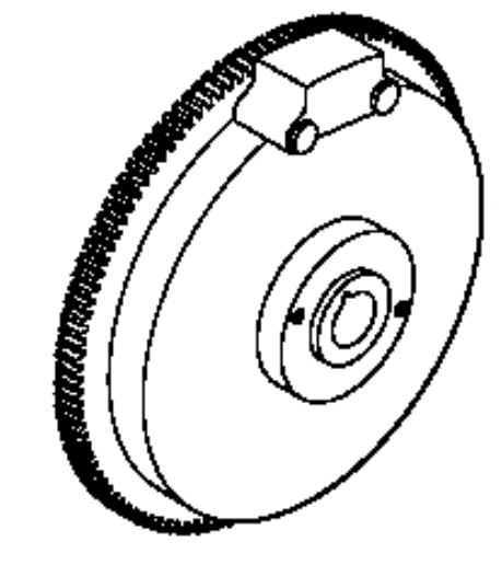 Kohler Flywheel - Part No. 12 025 19-S