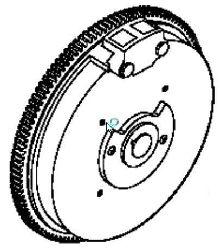 Kohler Flywheel - Part No. 12 025 32-S