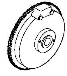 Kohler Flywheel - Part No. 12 025 72-S