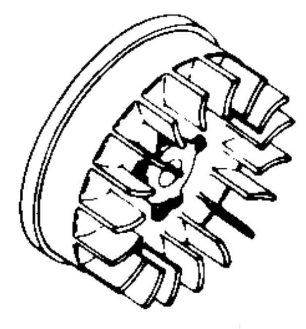 Kohler Flywheel - Part No. 237297-S