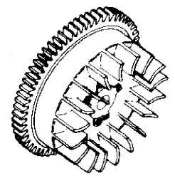 Kohler Flywheel - Part No. 47 025 28-S