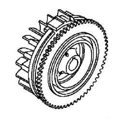 Kohler Flywheel - Part No. 63 025 13-S