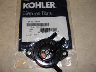 Kohler Fuel Pump - Part No. 24 393 16-S