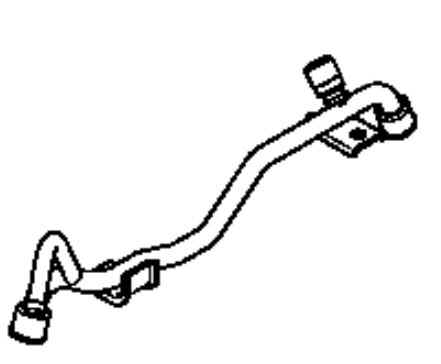 Kohler Fuel Rail  - Part No. 24 399 04-S