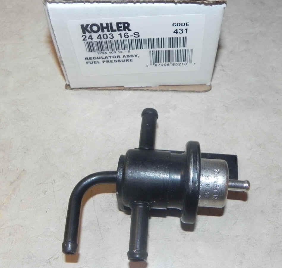 Kohler Fuel Pressure Regulator - Part No. 24 403 16-S
