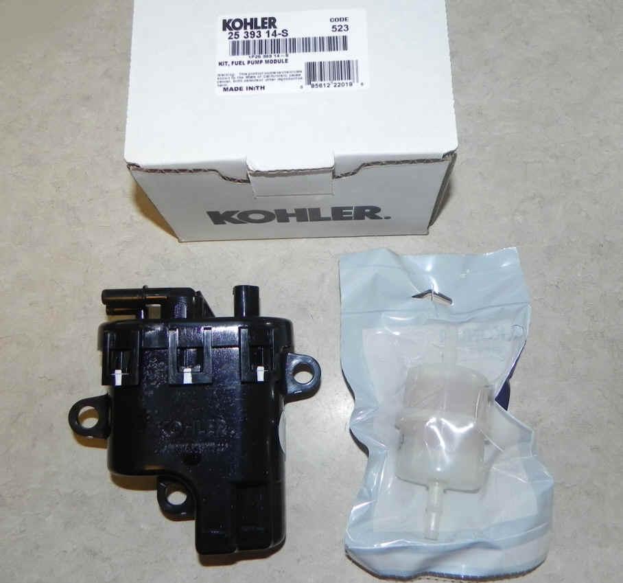 Kohler Fuel Pump - Part No. 25 755 74-S