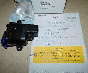 Kohler Fuel Pump - Part No. 25 755 73-S