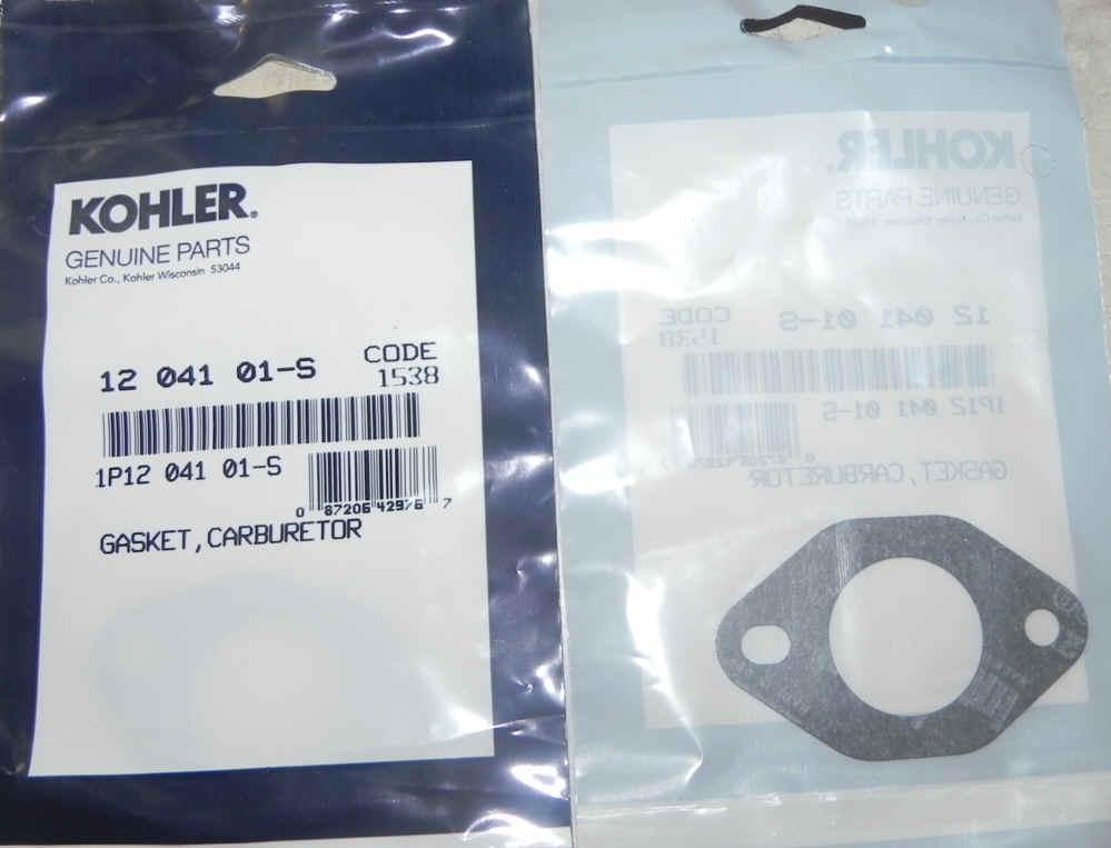 Kohler Carburetor Gasket 12 041 01-S