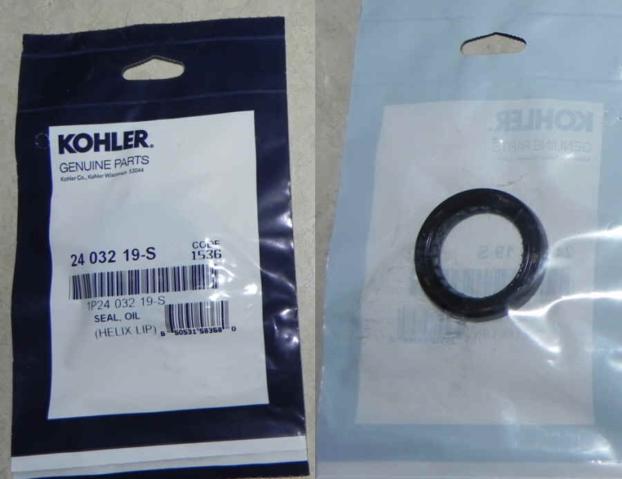 Kohler Oil Seal Part No 24 032 19-S