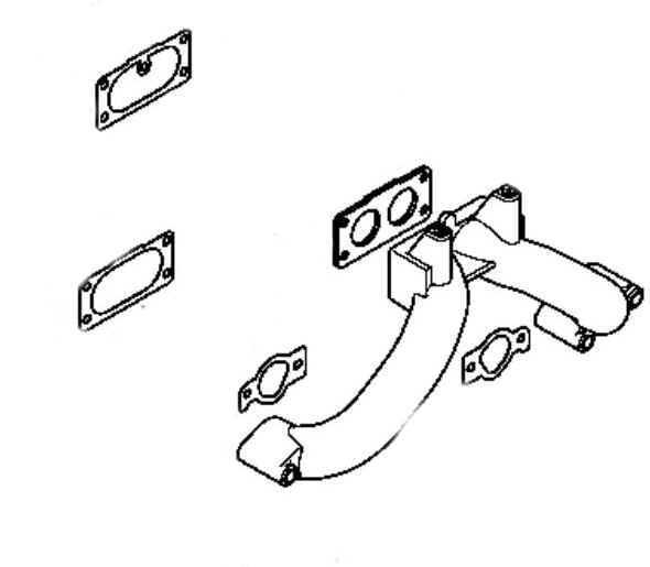 Kohler Intake Manifold Part Number 24 164 96-S