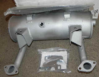 Kohler Muffler - Part No. 19 786 02-S