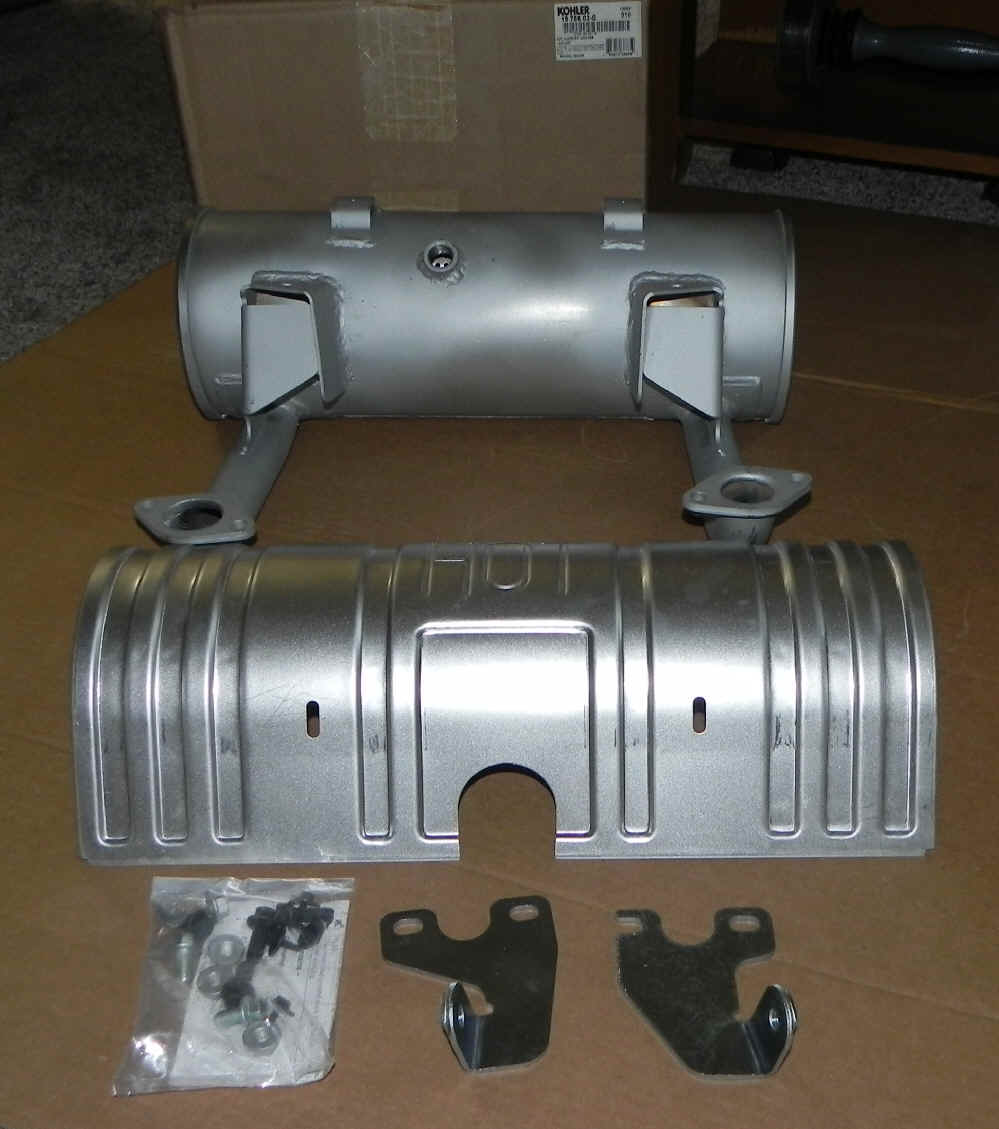 Kohler Muffler - Part No. 19 786 03-S