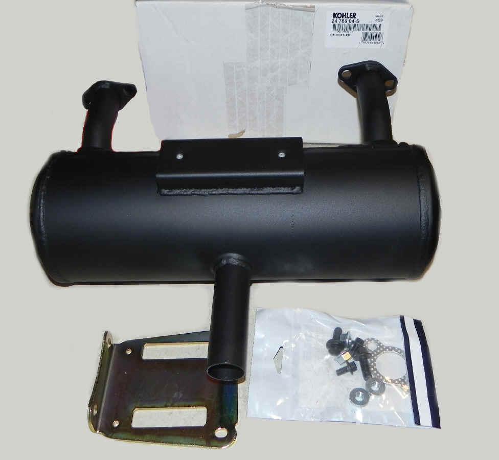 Kohler Muffler - Part No. 24 786 04-S