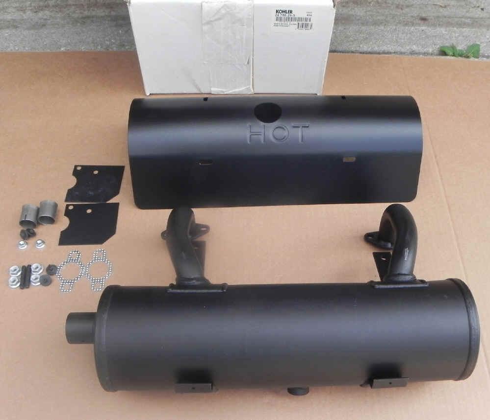 Small Engine Exhaust Parts : Kohler muffler part no s