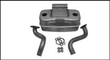 Kohler Muffler - Part No. 32 786 01-S