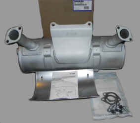 Kohler Muffler - Part No. 62 786 02-S
