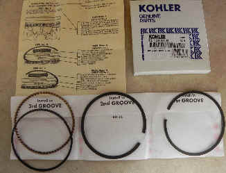 Kohler RING SET (STD & .08) Part Number 12 108 07-S