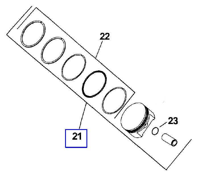Kohler Piston Assembly - Part No. 24 874 22-S