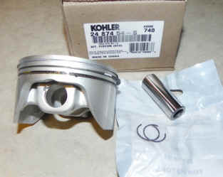 Kohler Piston Assembly - Part No. 24 874 54-S