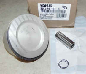 Kohler Piston Assembly - Part No. 25 874 16-S