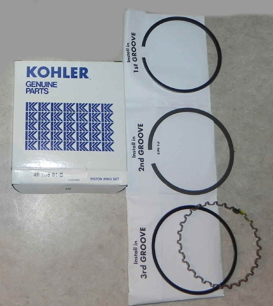 Kohler RING SET STD Part Number 48 108 01-S
