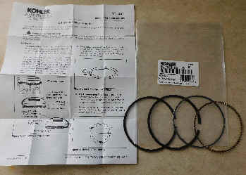 Kohler RING SET (.25MM O/S) Part Number 63 108 02-S