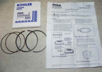 Kohler RING SET (.50MM O/S) Part Number 63 108 03-S