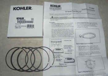 Kohler RING SET STD Part Number 63 108 04-S
