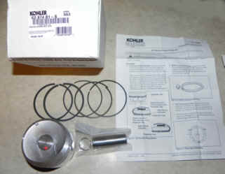 Kohler Piston Assembly - Part No. 63 874 01-S
